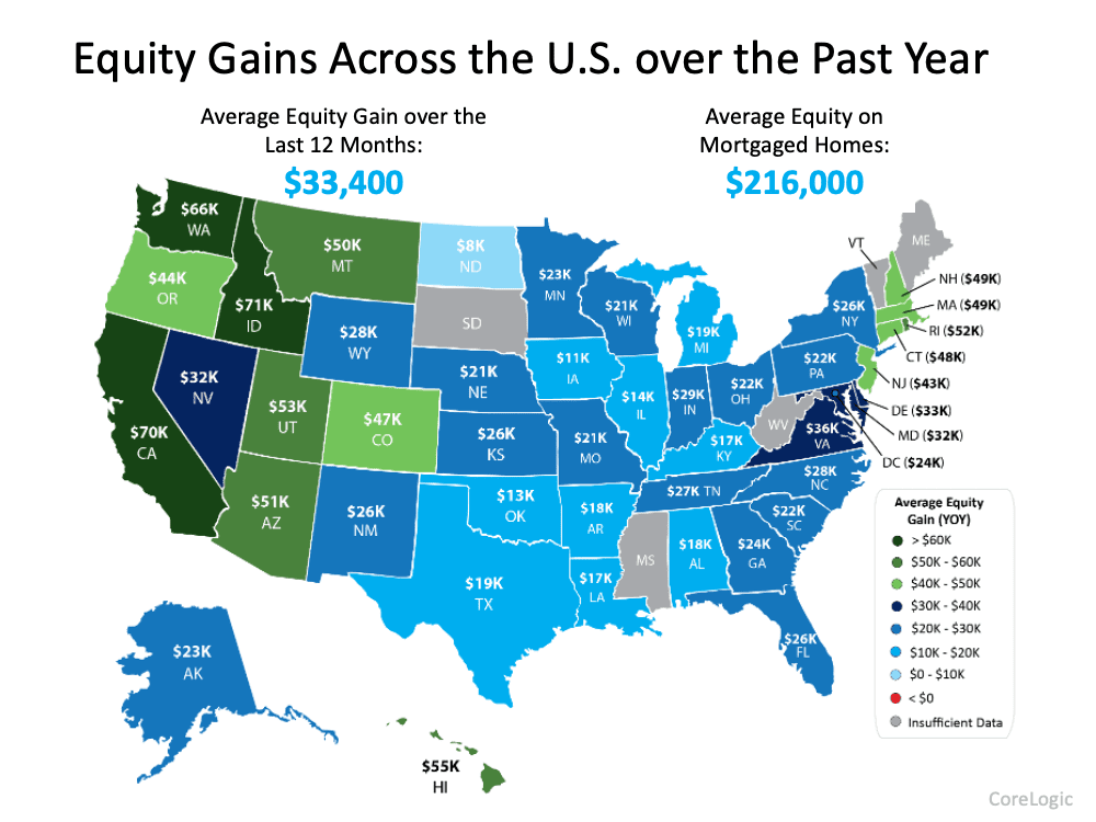 equity gains in massachusetts boston over the past year